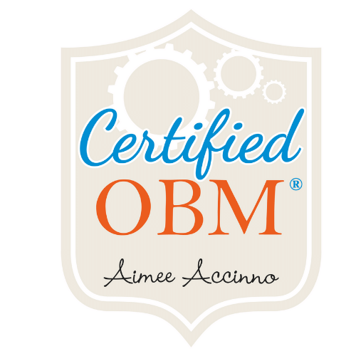 Certified Online Business Manager Badge